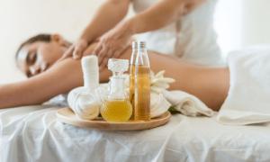 Aromaterapinis masazas