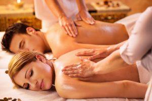 Aromaterapinis masažas porai